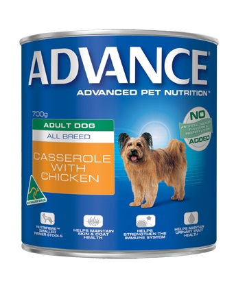 Pet Dog Food Online Adult. Can (Casserole + Chicken) 700g