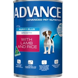 Best Dog Food In Australia Puppy plus Growth Can (Lamb) 410g