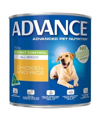 Best Dog Food Online Weight Control Can (Chicken + Rice) 700g