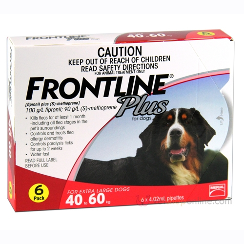 Frontline Plus for Extra Large Dogs - All Natural Dog Food