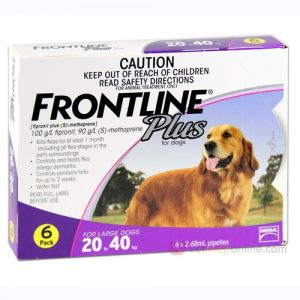 Frontline Plus for Large Dogs - Best All Natural Dog Food