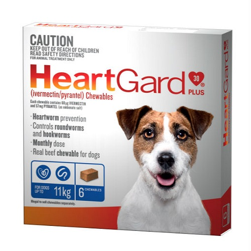 HeartGard 6 Pack Blue 11kg - All Natural Dog Food