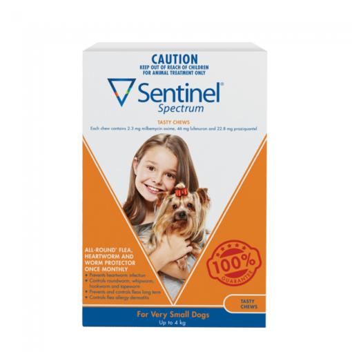 Sentinel Spectrum Tasty Chew Very Small Dogs
