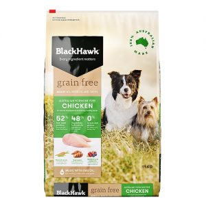 Black Hawk Adult Chicken and Rice Dog Food
