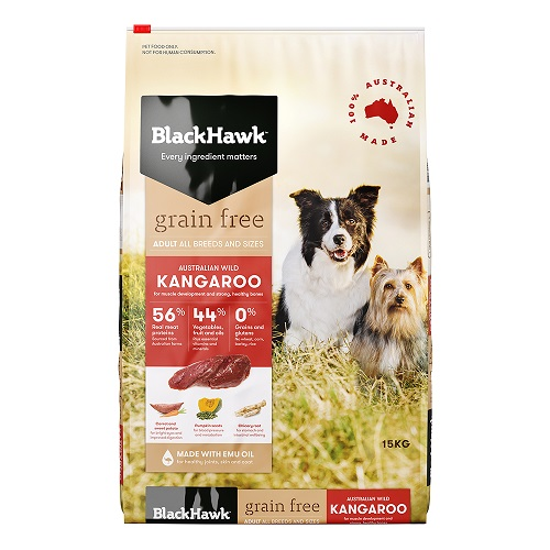 Black Hawk Adult Wild Kangaroo Grain Free